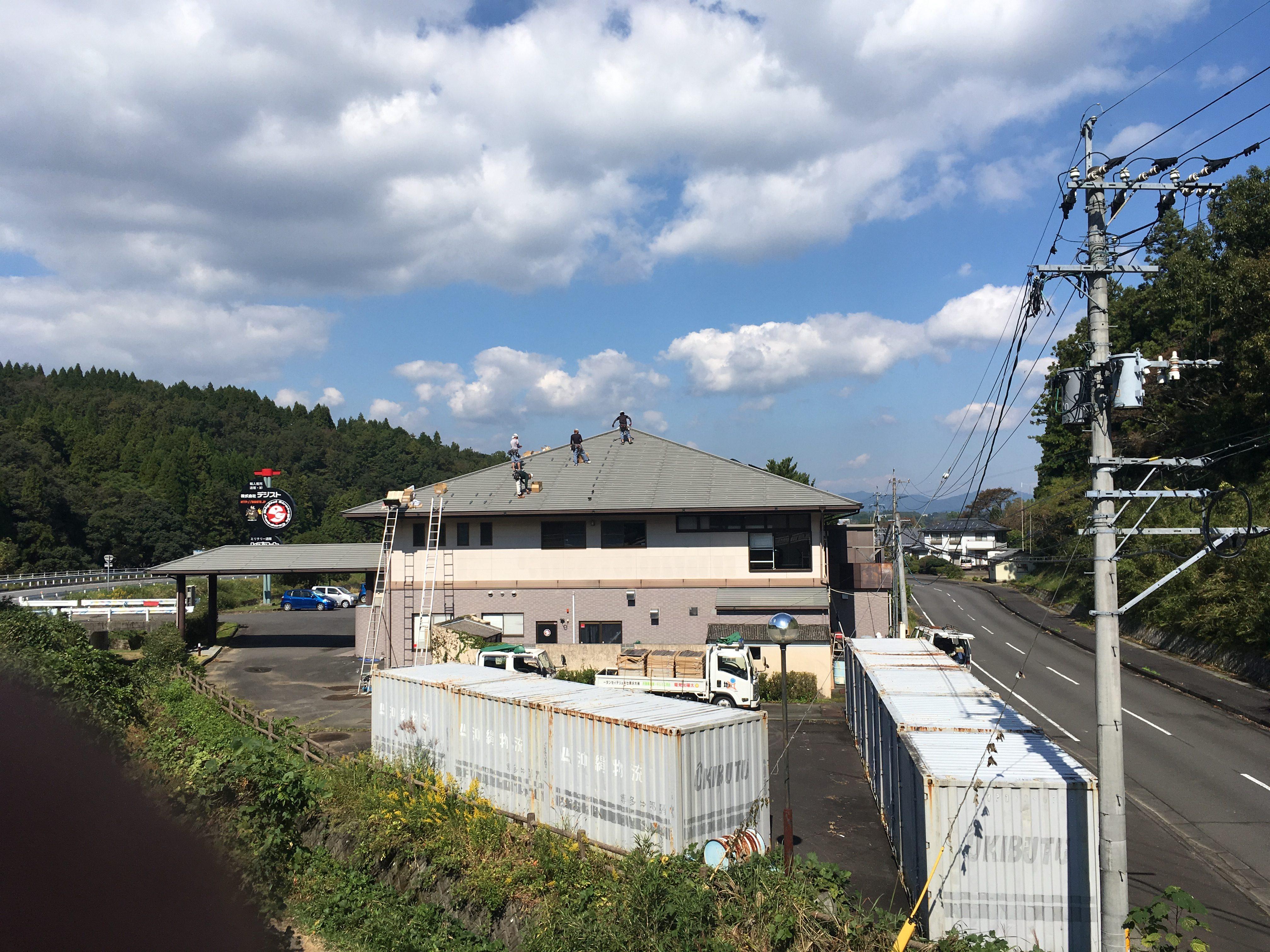 本社社屋に太陽光発電設備を設置しました。